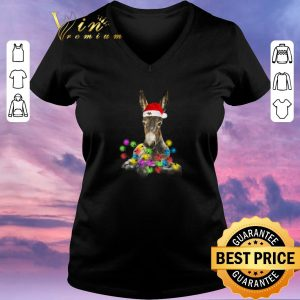 Official Donkey merry and bright Christmas shirt sweater