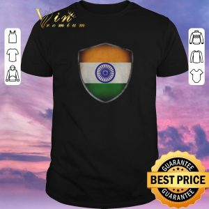 Official India Flag and Starry Nights Shield shirt sweater
