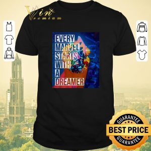 Official Leyth every Marvel starts with a dreamer shirt sweater