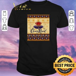 Original Crown Royal Christmas ugly shirt sweater