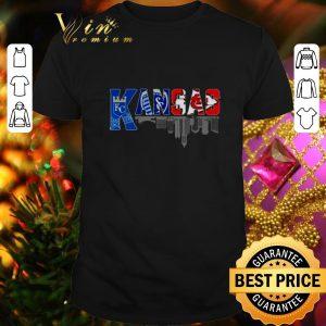 Original Kansas sport team Kansas City Royals Kansas City Chiefs shirt