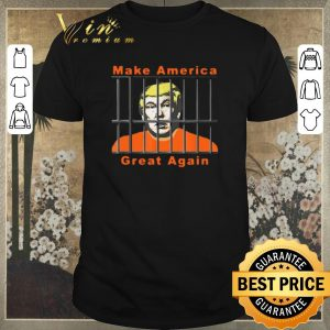 Original Lock Trump Up AntiTrump make America great again shirt sweater