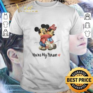 Original Mickey and Minnie mouse you are my person shirt