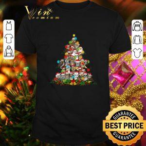 Original Owls Christmas tree shirt