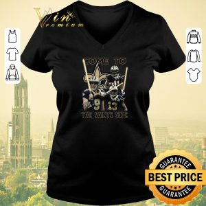 Original Signatures Come To The New Orleans Saints Side Star Wars shirt