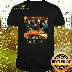 Original Supernatural Temporada Happy Thanksgiving Yaidjits shirt