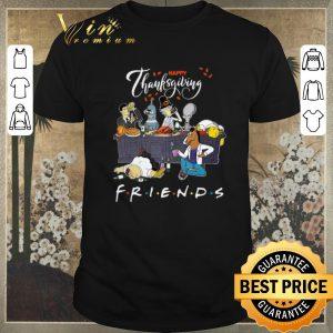 Original Thanksgiving Bender Homer Simpson Rick Bojack Horseman Friends shirt