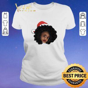 Premium Afro Natural Black Women Christmas shirt sweater