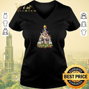 Premium Christmas tree French Bulldog shirt