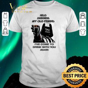 Premium Darth Vader hello darknes my old friend drink Guinness Beer shirt sweater