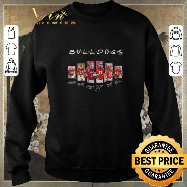 Premium Friends Georgia Bulldogs signatures player shirt sweater