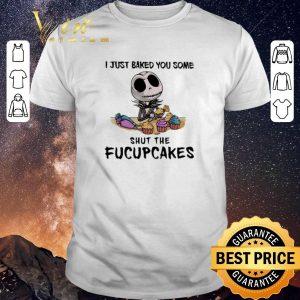 Premium Jack Skellington i just baked you some shut the fucupcakes shirt sweater