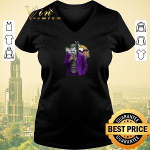 Premium Joker Joaquin Phoenix Minnesota Vikings shirt sweater