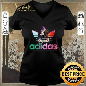 Pretty Flower adidas all day I dream about dance with horse shirt sweater