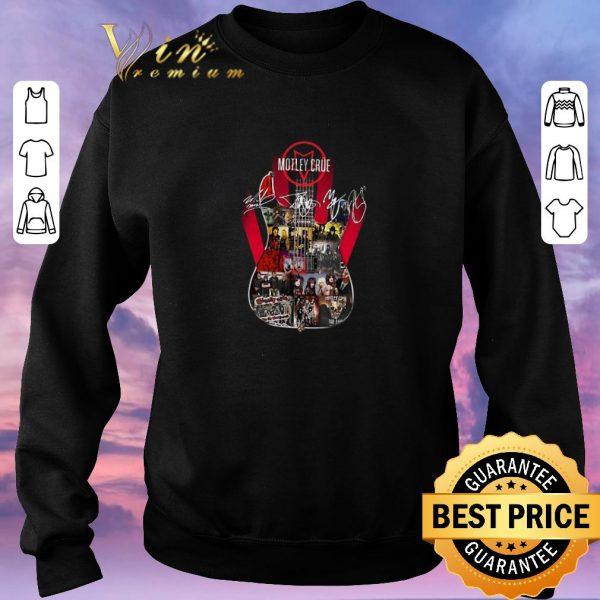 Pretty Signatures Motley Crue Guitarist shirt