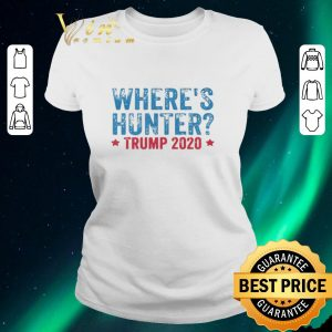 Pretty Where's Hunter Trump 2020 shirt sweater