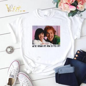 Rik Mayall and Phoebe we're grown ups now so piss off shirt sweater
