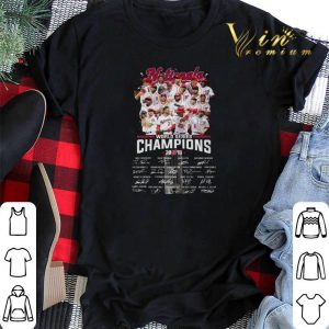 Signatures Nationals World Series Champions 2019 shirt