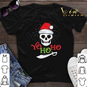 Skull Yo Ho Ho Pirate Boat Cruise Christmas shirt sweater