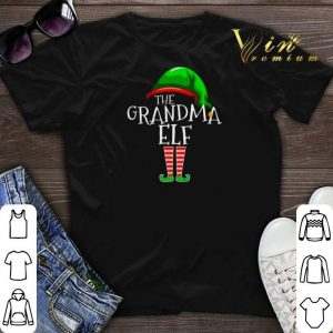 The Grandma Elf Family Christmas shirt sweater