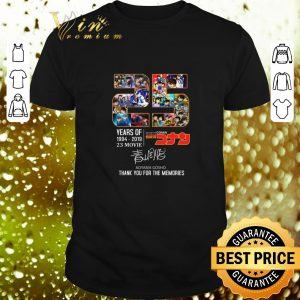 Top 25 Years Of Detective Conan 1994-2019 Thank You For The Memories shirt
