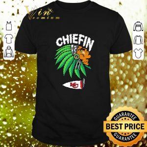 Top Chiefin Kansas City Chiefs Weed shirt