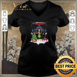 Top Christmas Grinch Drink up Farmers Insurance shirt