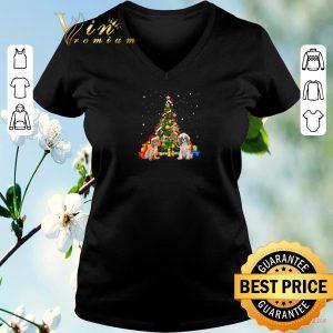 Top Christmas Tree gift Cavalier King Charles Spaniels shirt
