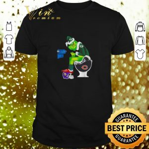 Top Green Bay Packers Grinch Toilet Minnesota Vikings Miami Dolphins Patroits shirt