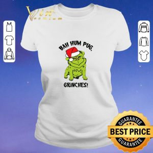 Top Grinch Pug Bah Hum Pug Grinches Christmas shirt sweater