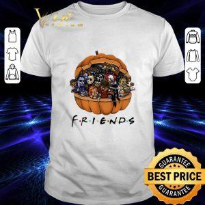 Top Horror characters Chibi in pumpkin Friends shirt