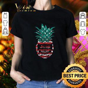 Top Jeep pineapple American flag shirt