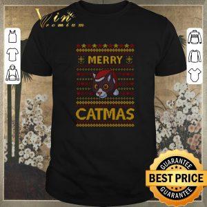 Top Merry Catmas Christmas shirt sweater