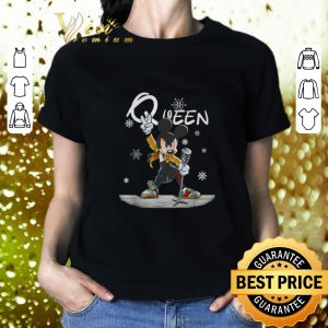 Top Mickey Freddie Mercury Queen Christmas shirt