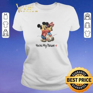 Top Mickey and Minnie mouse you are my person shirt sweater