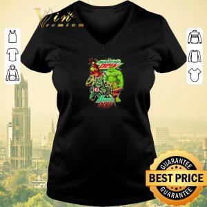 Top Mountain Dew Avengers Marvel shirt sweater