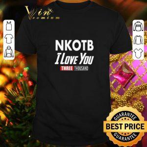 Top New kids on the block NKOTB i love you three thousand shirt