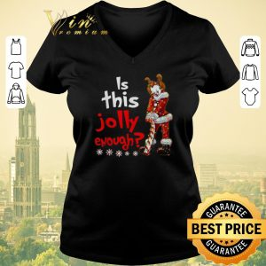 Top Santa Pennywise is this Jolly enough Christmas shirt sweater