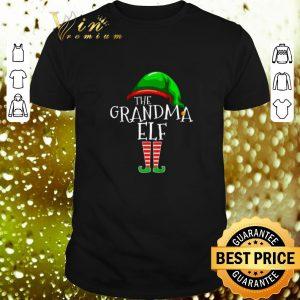 Top The Grandma Elf Family Christmas shirt