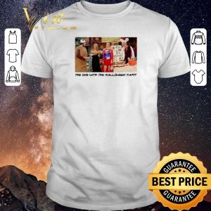 Top The one with the halloween party Friends TV 2001 shirt sweater