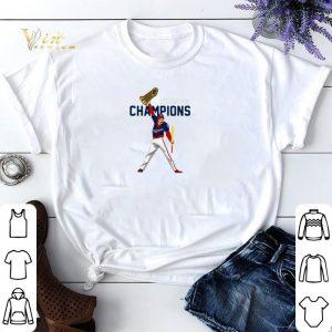 We are the champion Washington Nationals Freddie Mercury shirt
