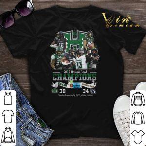2019 Hawaii Bowl Champions Hawaii Rainbow Warriors BYU Cougars shirt sweater