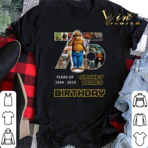 75 years of Smokey Bear 1944-2019 Birthday shirt sweater
