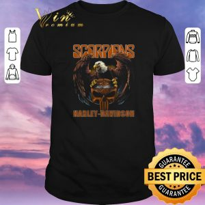 Awesome Eagle Scorpions Harley Davidson shirt sweater