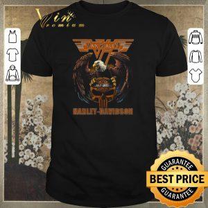 Awesome Eagle Van Halen Harley Davidson shirt sweater