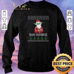 Awesome Santa Yoda Bah Humbug Ugly Christmas shirt sweater 2