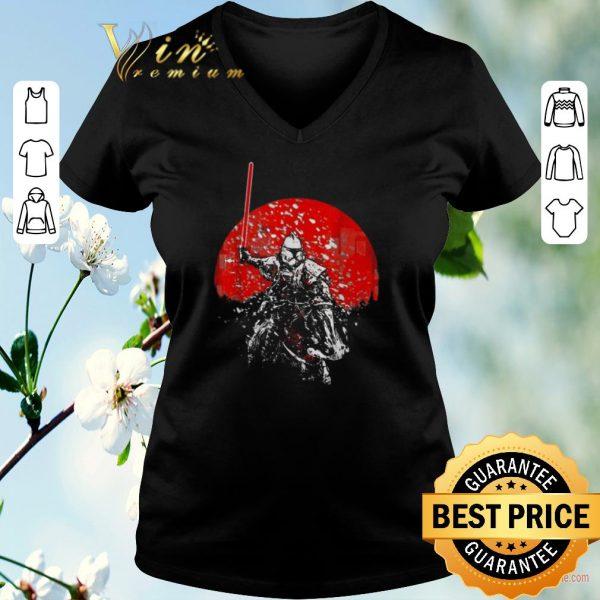 Awesome Star Wars Samurai Mandalorian shirt
