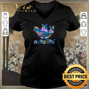 Awesome adicats flowers adidas floral cat shirt sweater