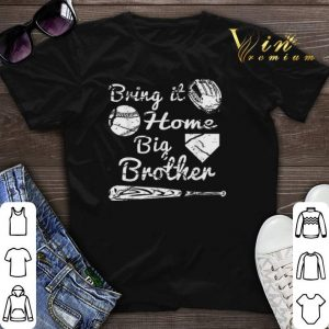 Bring it home big brother baseball shirt sweater