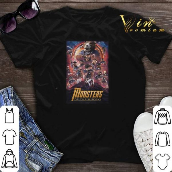 Chicago Bears Monsters Of The Midway Avengers Infinity War shirt sweater